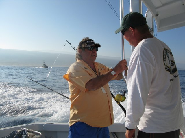 Dick Landfield of the Laguna Niguel Billfish Club